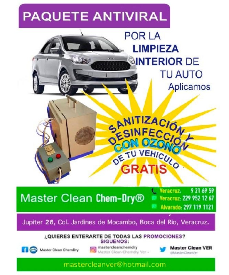 Master Clean ChemDry