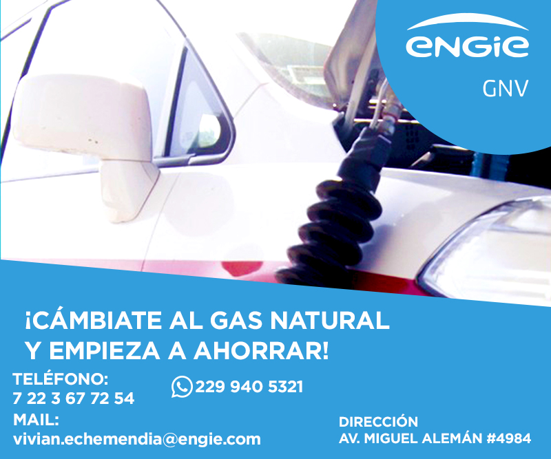 ENGIE | Gas Natural Vehicular
